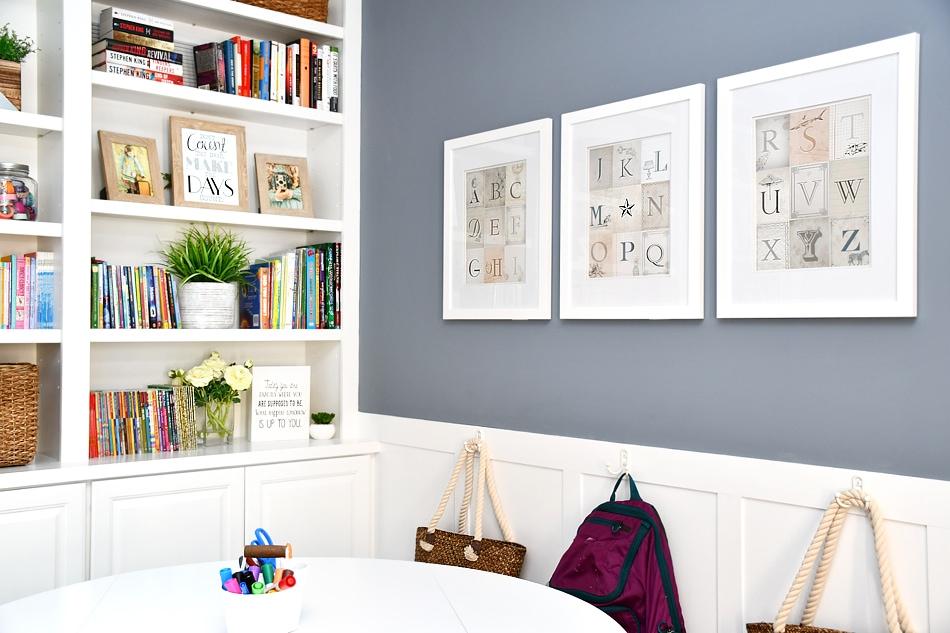 Homework Room Makeover How To Nest For Less