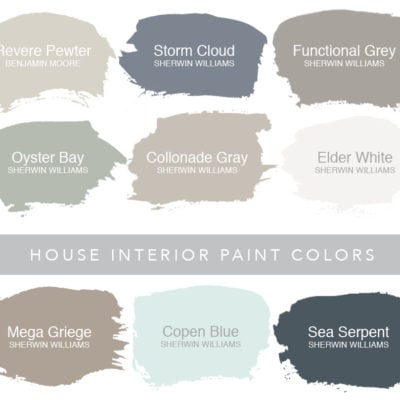Paint Colors {My House}
