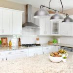 Builder Grade Kitchen to Farmhouse Kitchen