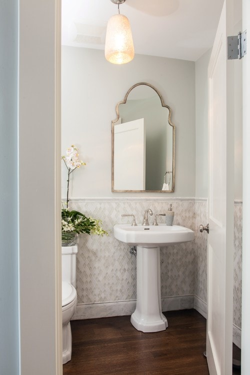 Traditional Powder Room How To Nest For Less