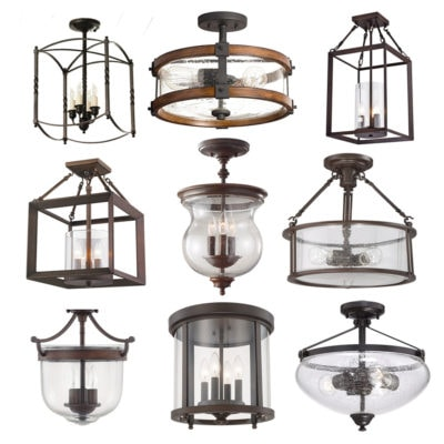 Foyer Lighting Options