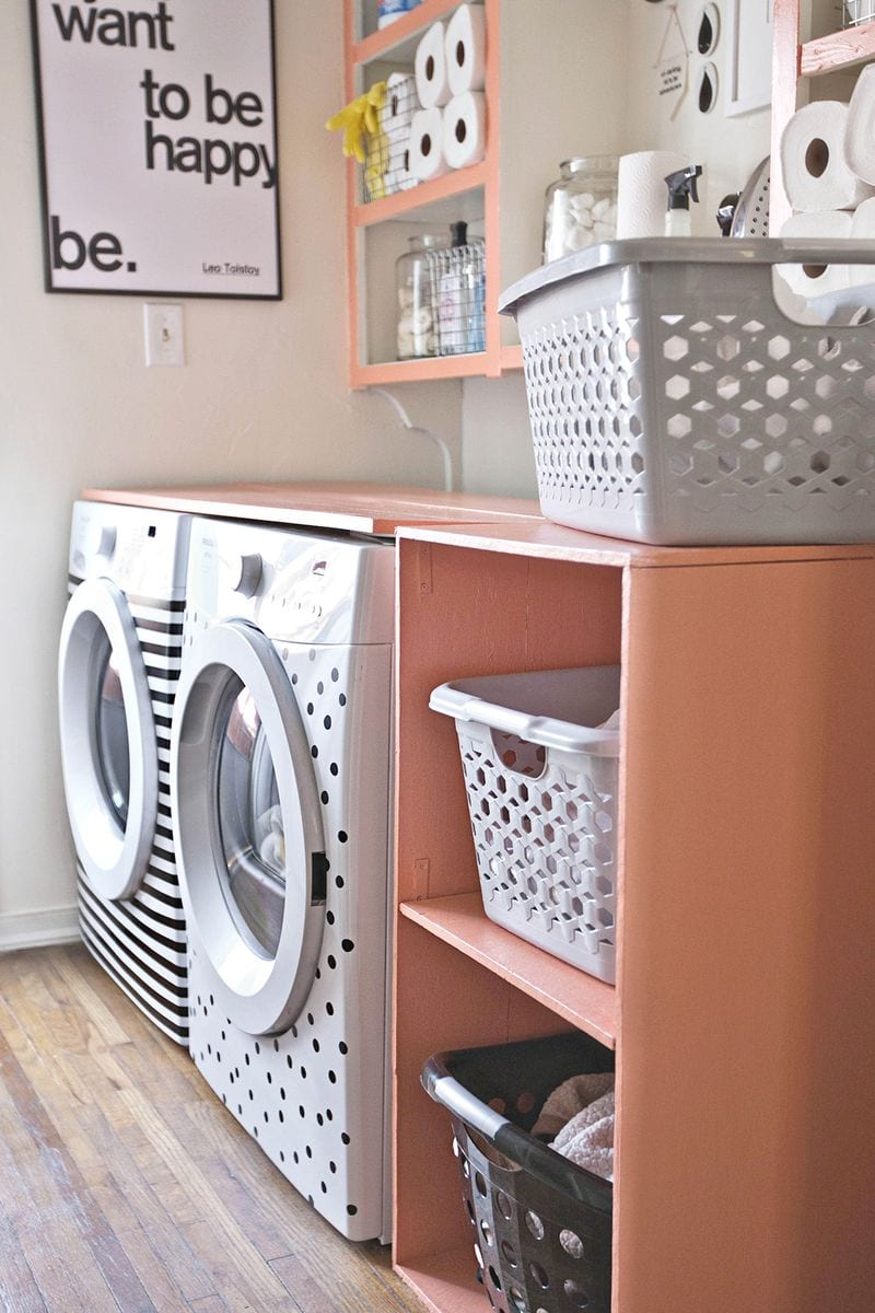 Easy Laundry Room Makeovers 20 Laundry Room Makeovers How To Nest For Less