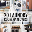 20 Laundry Room Makeovers