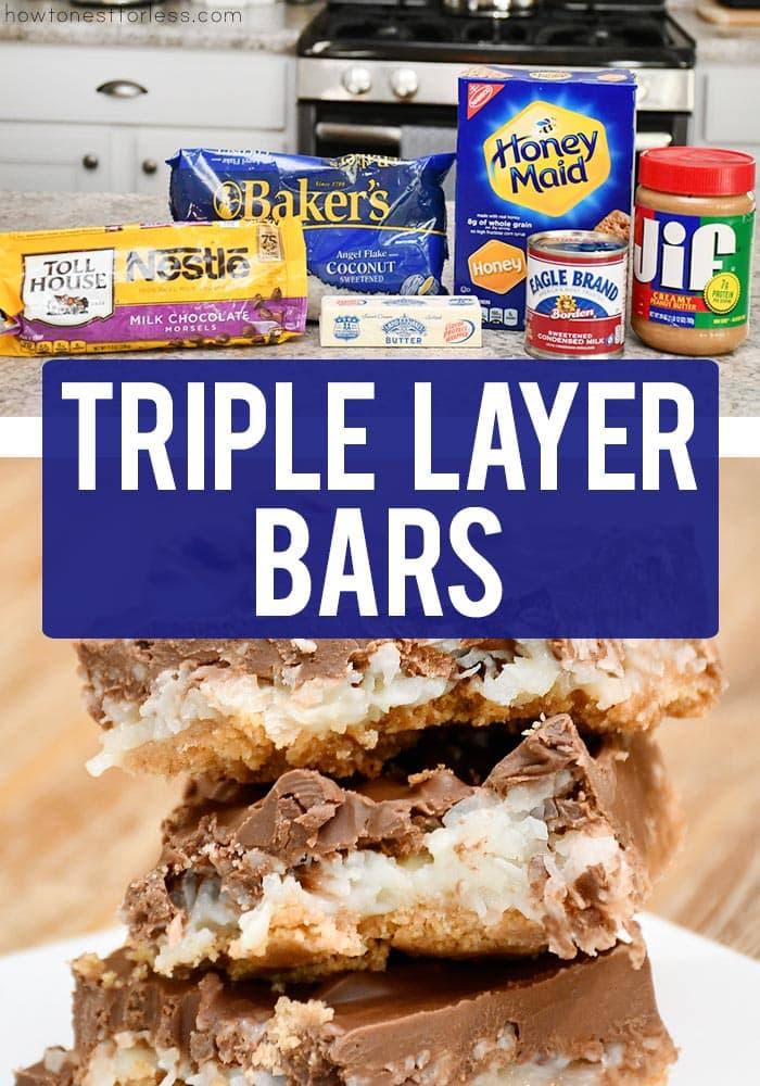 Triple Layer Bars