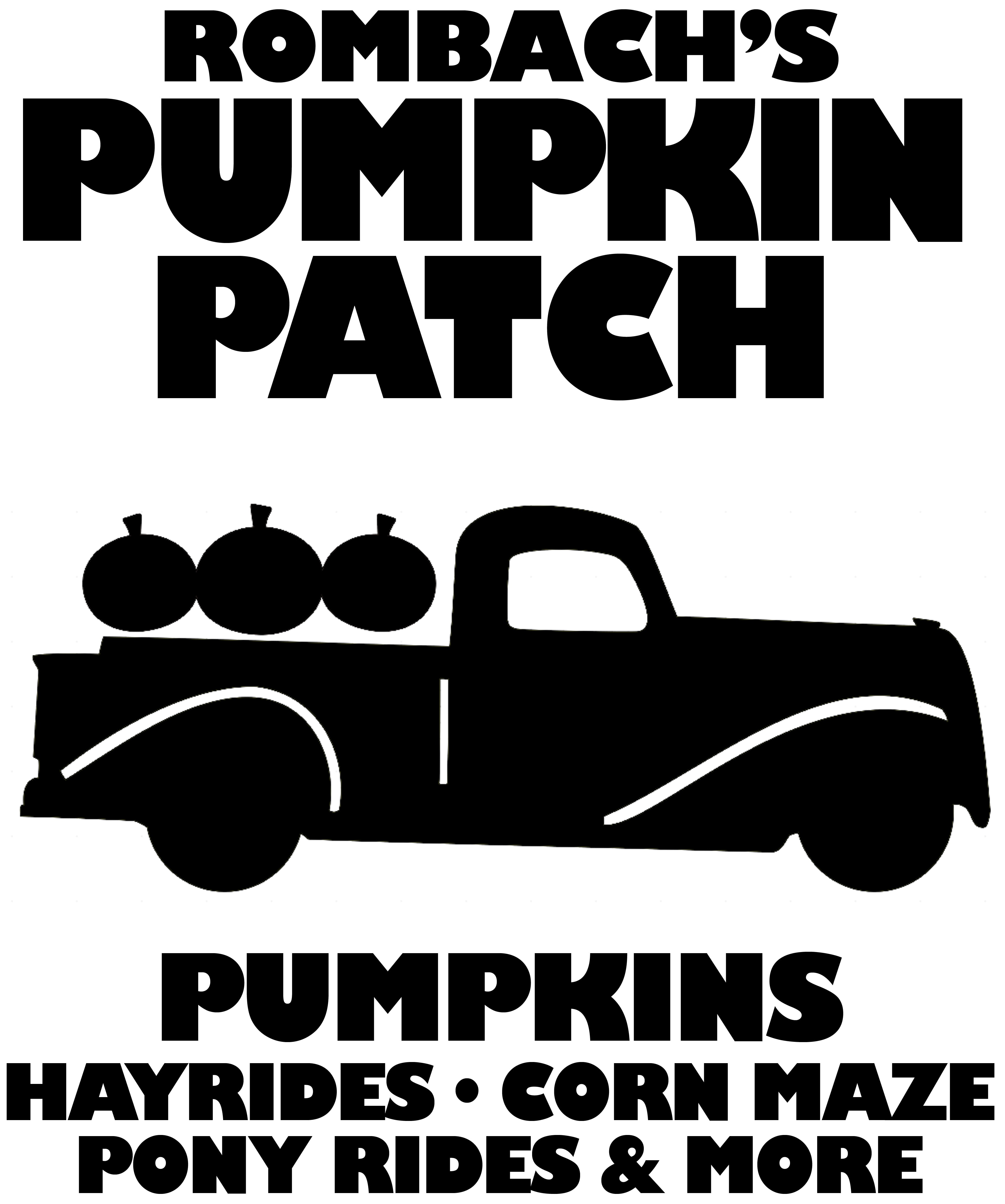 Pumpkin patch sign.