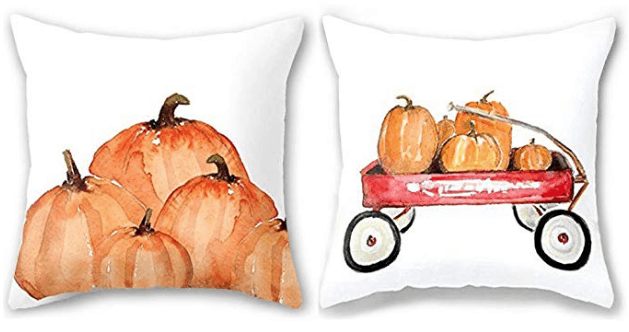 pumpkin pillow set