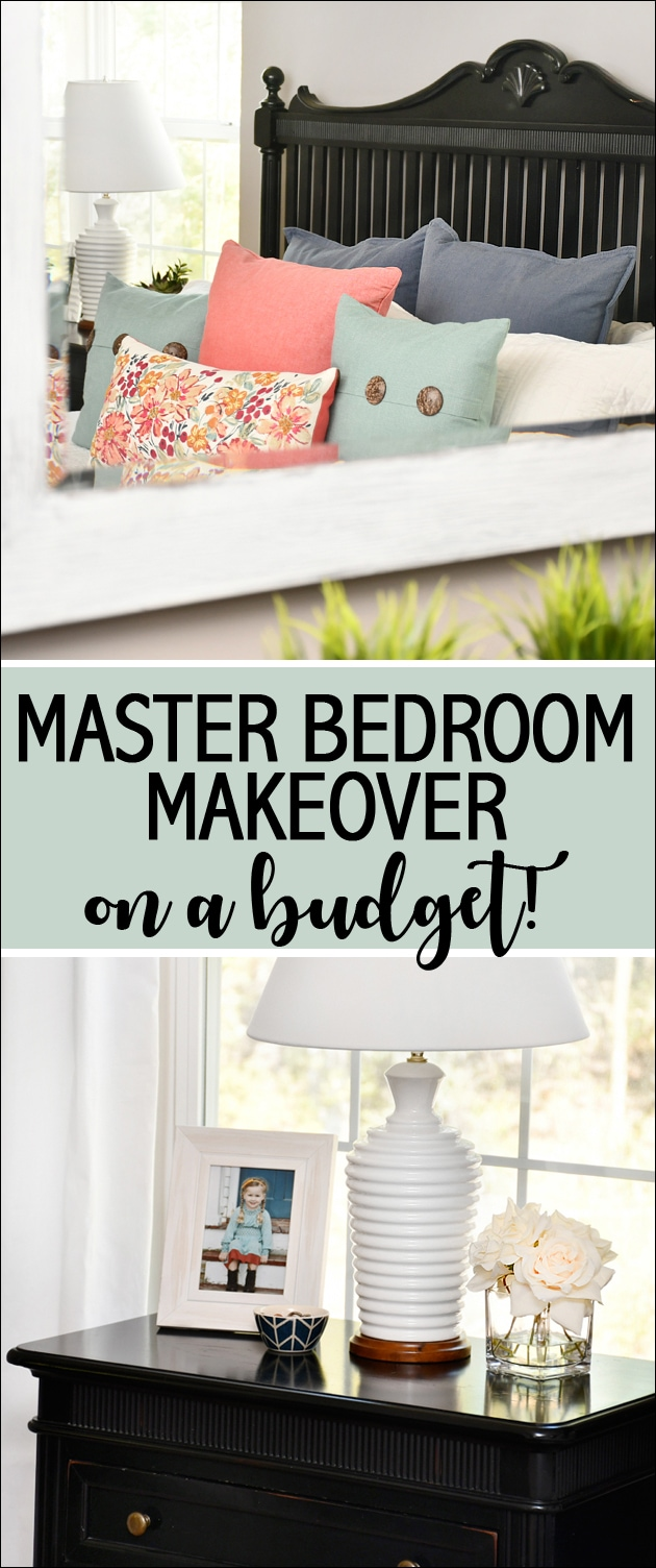 budget master bedroom makeover black furniture