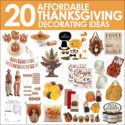 20 Affordable Thanksgiving Decorating Ideas