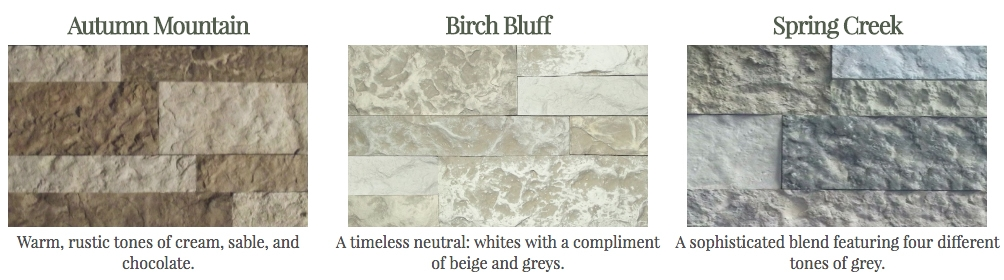 Airstone Is Available In Three Color Blends Autumn Mountain Spring Creek And The New Birch Bluff It S Also At Most Lowe 1165