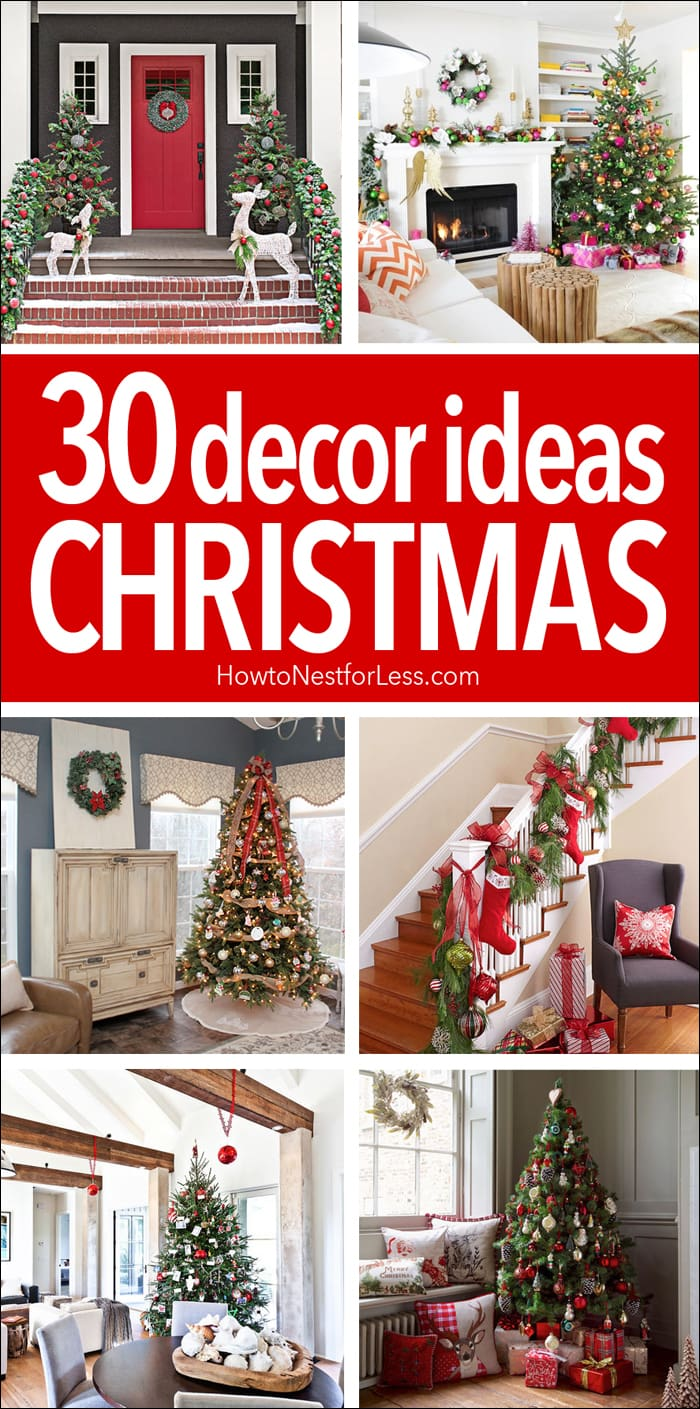 30 christmas decor ideas - Christmas Decorations Ideas 2017