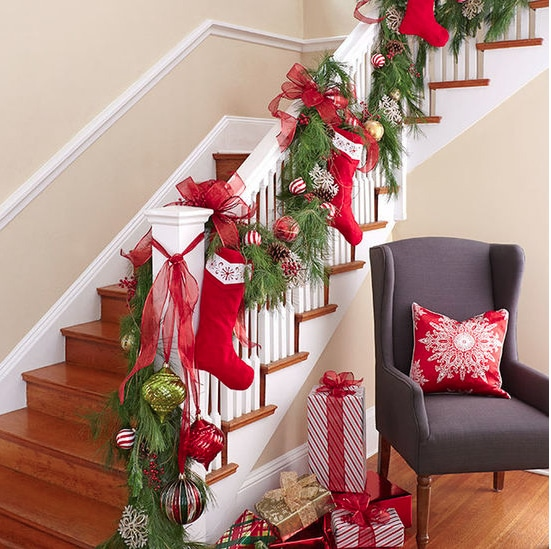 christmas entry foyer - Christmas Decorating Ideas For Foyer