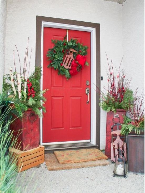 Christmas front porch idea