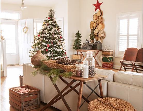 Christmas great room