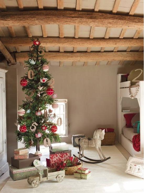 Christmas skinny tree