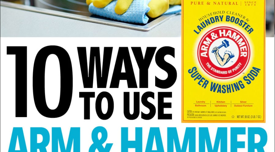 arm and hammer Super Washing Soda cleaning
