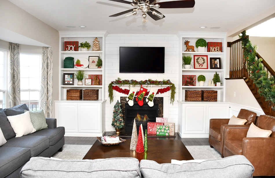 Christmas Family Room Ideas