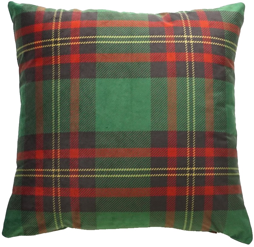 christmas plaid pillow cover