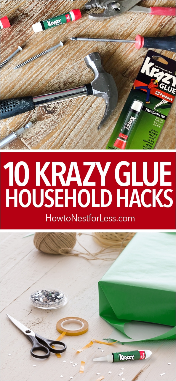 krazy glue household hacks