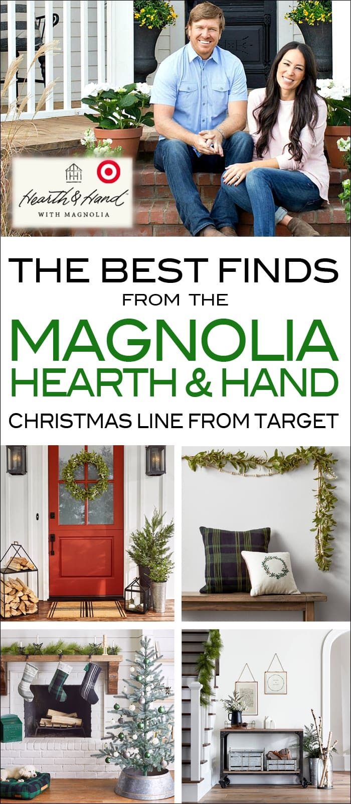 magnolia christmas decor from target