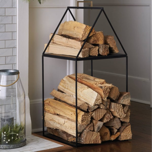 magnolia home log holder
