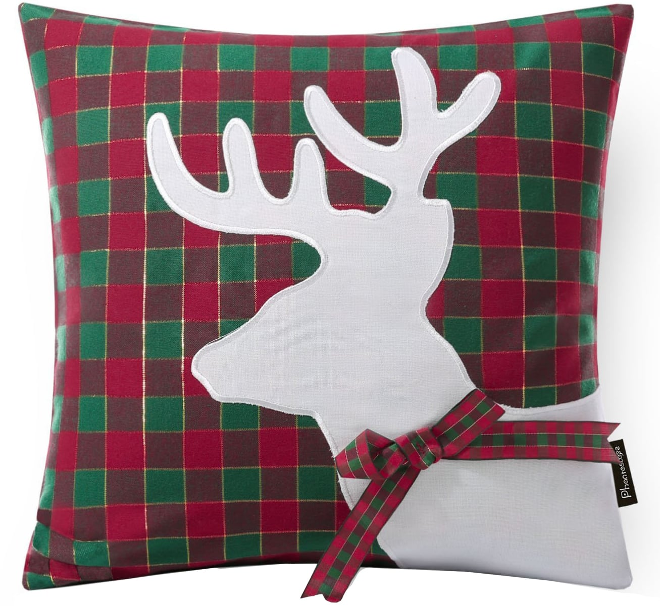 reindeer christmas pillow cover & 30 Christmas Pillow Covers for Under $13! - Holiday Pillow Covers pillowsntoast.com