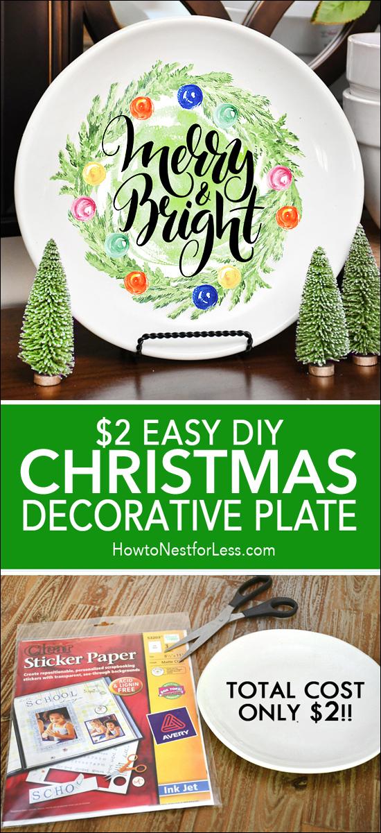 CHRISTMAS decorative plate copy
