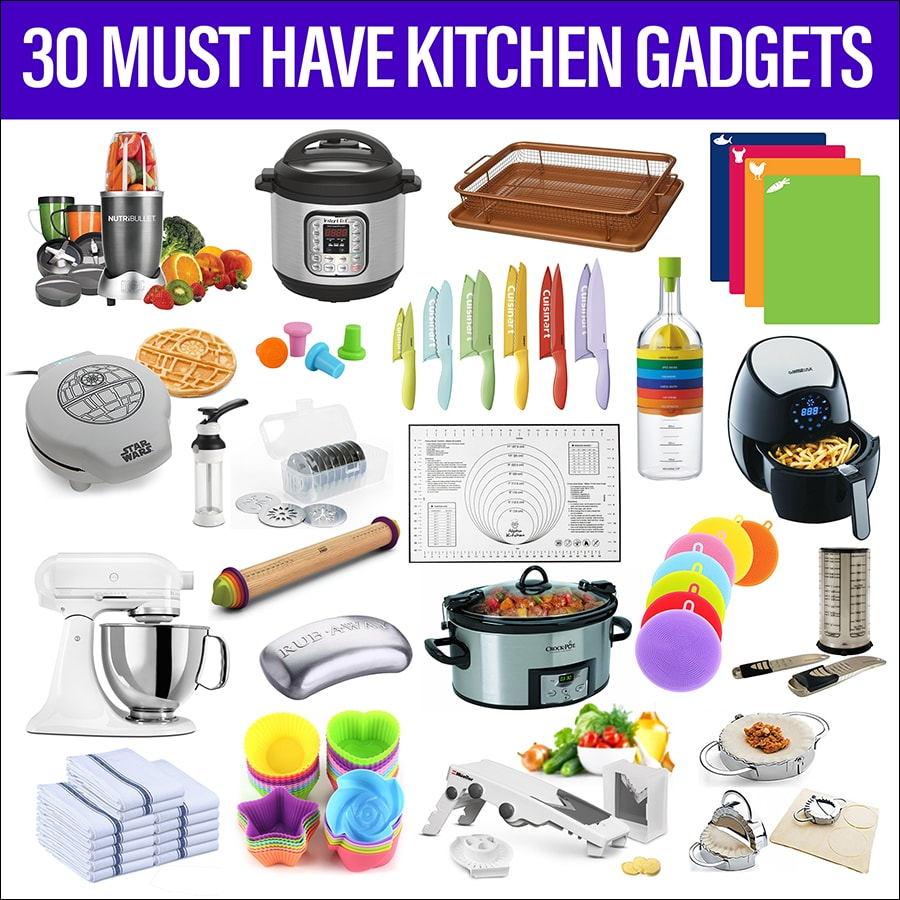 30 Must Have Kitchen Gadgets Preparation Tools Essentials