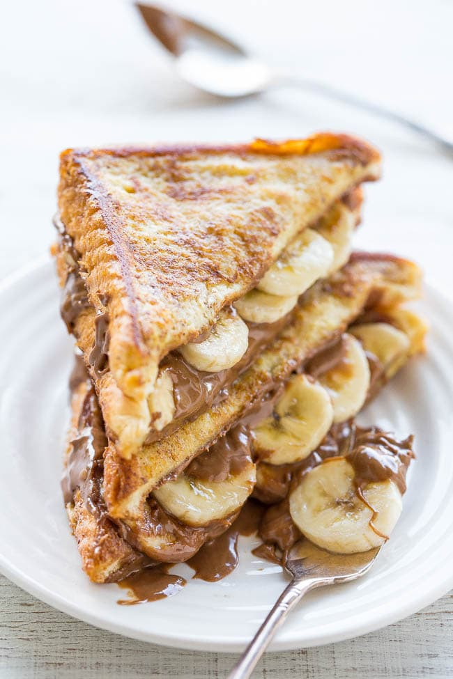 chocolate peanut butter French toast