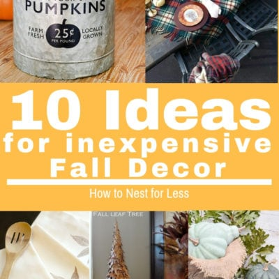 10 Ideas for Inexpensive Fall Decor