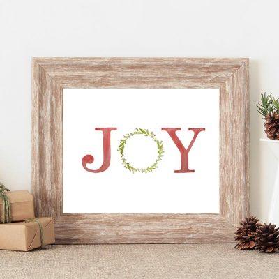 Joy Free Printable