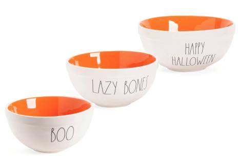 Happy Halloween mixing bowl set