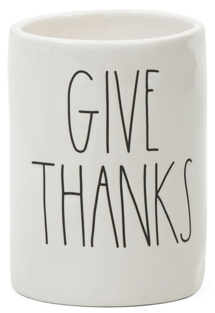 give thanks autumn scented candle