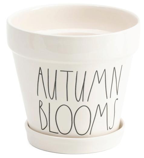 Rae Dunn Autumn Blooms