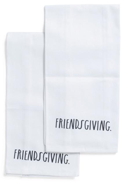 Friendsgiving towels