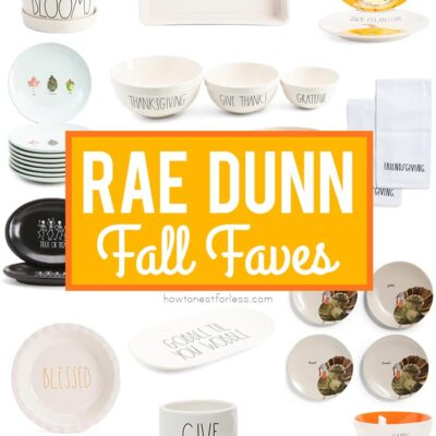 Rae Dunn Fall Favorites