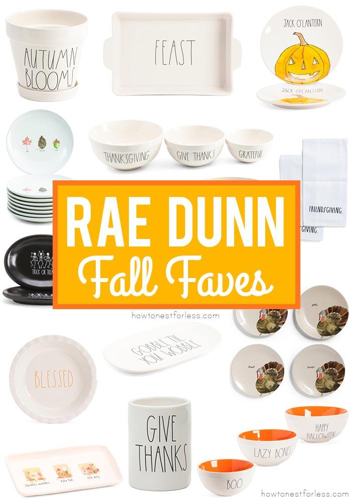 Rae Dunn Fall Favorites