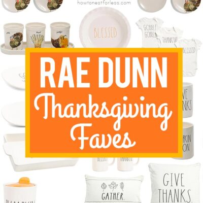 Rae Dunn Thanksgiving Faves