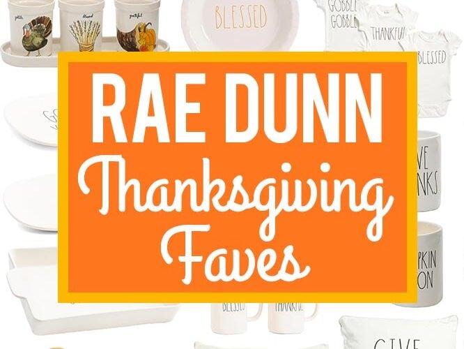 Rae Dunn Thanksgiving Faves