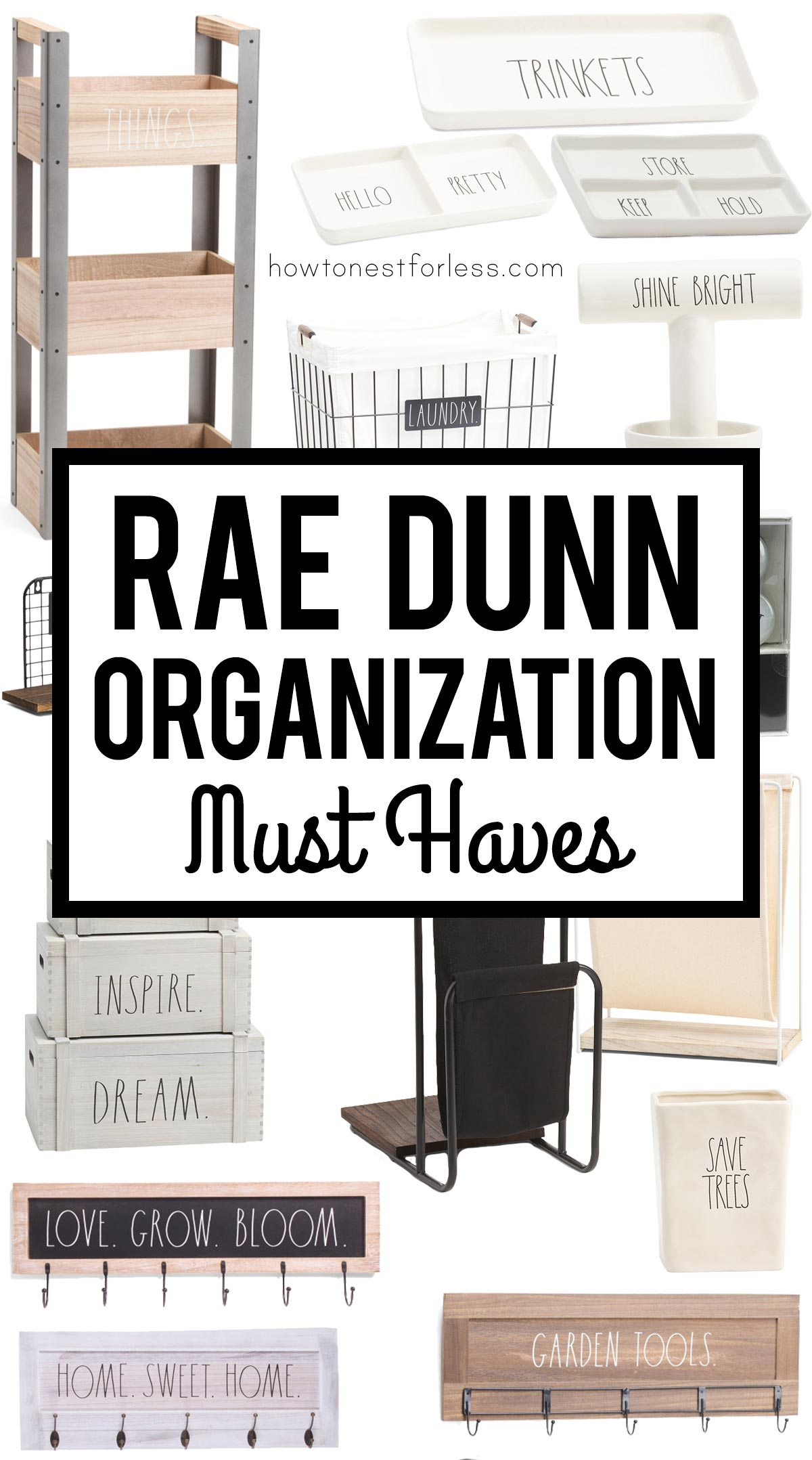 Rae Dunn Organization Must Haves