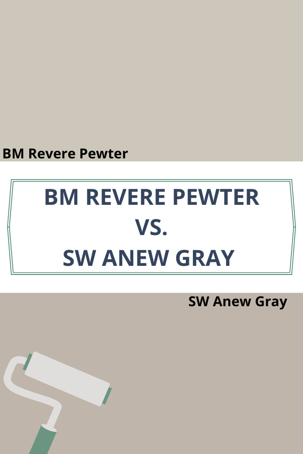Revere Pewter vs. Anew Gray