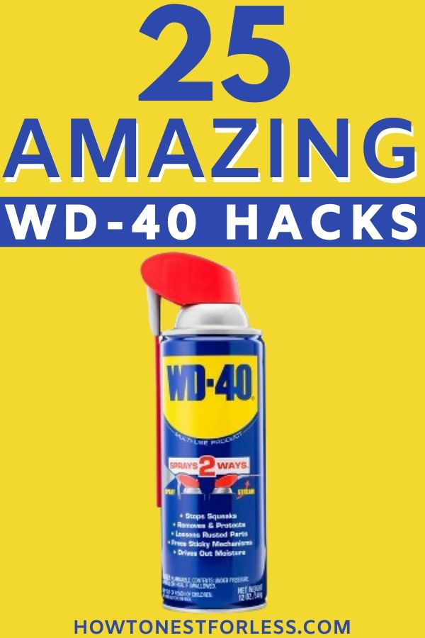 8 Amazing Ways You Can Use WD-40 At Home