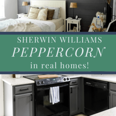 Sherwin Williams Peppercorn